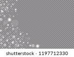 glow light effect. vector... | Shutterstock .eps vector #1197712330