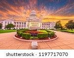 little rock  arkansas  usa at...   Shutterstock . vector #1197717070