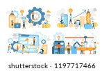 business teamwork set.... | Shutterstock .eps vector #1197717466