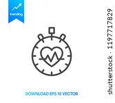 cardio metabolic logo or icon | Shutterstock .eps vector #1197717829
