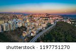 Aerial. Agrigento. A City On...