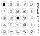 oil icon set. collection of 25... | Shutterstock .eps vector #1197756049
