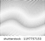 wavy dot lines background.... | Shutterstock .eps vector #1197757153