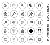 handle icon set. collection of... | Shutterstock .eps vector #1197758350