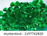 emerald and gemstones   gem for ...   Shutterstock . vector #1197762820