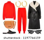 a set of fashionable clothes... | Shutterstock . vector #1197766159