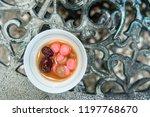 chinese sweetheart soup  longan ... | Shutterstock . vector #1197768670