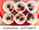 chinese sweetheart soup  longan ... | Shutterstock . vector #1197768673