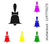elements of bell in multi... | Shutterstock . vector #1197770173
