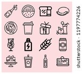 outline food icon set such as... | Shutterstock .eps vector #1197774226