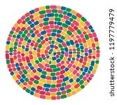 vector abstract colorful mosaic ... | Shutterstock .eps vector #1197779479