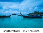 beautiful sea view  crystal... | Shutterstock . vector #1197780826
