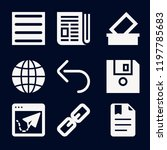 interface icon set   filled... | Shutterstock .eps vector #1197785683