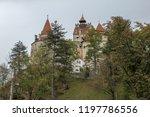 bran  brasov  transylvania ... | Shutterstock . vector #1197786556