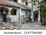 bran  brasov  transylvania ... | Shutterstock . vector #1197786580