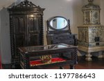 bran  brasov  transylvania ... | Shutterstock . vector #1197786643