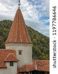 bran  brasov  transylvania ... | Shutterstock . vector #1197786646
