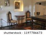 bran  brasov  transylvania ... | Shutterstock . vector #1197786673