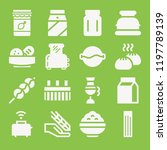 food icon set   filled...   Shutterstock .eps vector #1197789139