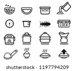 cook rice step and symbol in... | Shutterstock .eps vector #1197794209