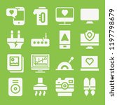 technology icon set   filled... | Shutterstock .eps vector #1197798679