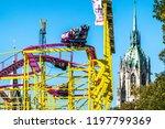 munich  germany   october 4 ...   Shutterstock . vector #1197799369