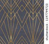 seamless geometric pattern on... | Shutterstock . vector #1197799723