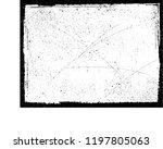 grunge frame.grunge paint frame.... | Shutterstock . vector #1197805063