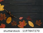 background texture with old... | Shutterstock . vector #1197847270