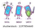 vector illustration of three... | Shutterstock .eps vector #1197856660