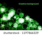bright abstract techno... | Shutterstock .eps vector #1197866329