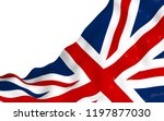 waving flag of the great... | Shutterstock . vector #1197877030