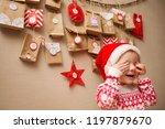 advent calendar for kids. child ...   Shutterstock . vector #1197879670