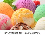 Small photo of Assorted ice cream