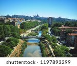 architecture and landmark of... | Shutterstock . vector #1197893299