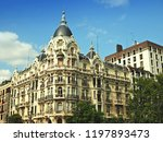 architecture and landmark of... | Shutterstock . vector #1197893473