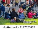 thessaloniki   greece   okt 8 ... | Shutterstock . vector #1197893809