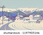 Winter Rural Landscape....