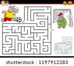 cartoon illustration of... | Shutterstock .eps vector #1197912283