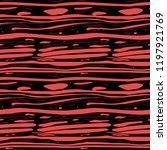 hand drawn rad slime  blood ... | Shutterstock .eps vector #1197921769