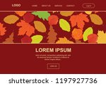 autumn leafs  landing page...
