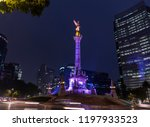 Night Shot Of The Monument To...