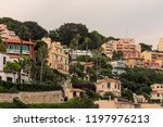 seacoast of cap d ail at...   Shutterstock . vector #1197976213