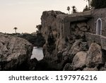 seacoast of cap d ail at...   Shutterstock . vector #1197976216