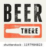 beer typographical vintage... | Shutterstock .eps vector #1197984823