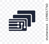 depth perception transparent... | Shutterstock .eps vector #1198017760