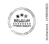 belgium grunge stamp with... | Shutterstock .eps vector #1198020823