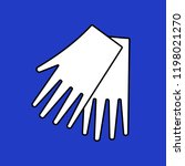 medical gloves icon. protective ...   Shutterstock .eps vector #1198021270