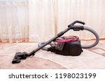 vacuum cleaner in the room on... | Shutterstock . vector #1198023199