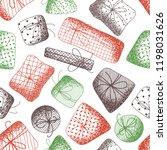 vector seamless pattern of... | Shutterstock .eps vector #1198031626